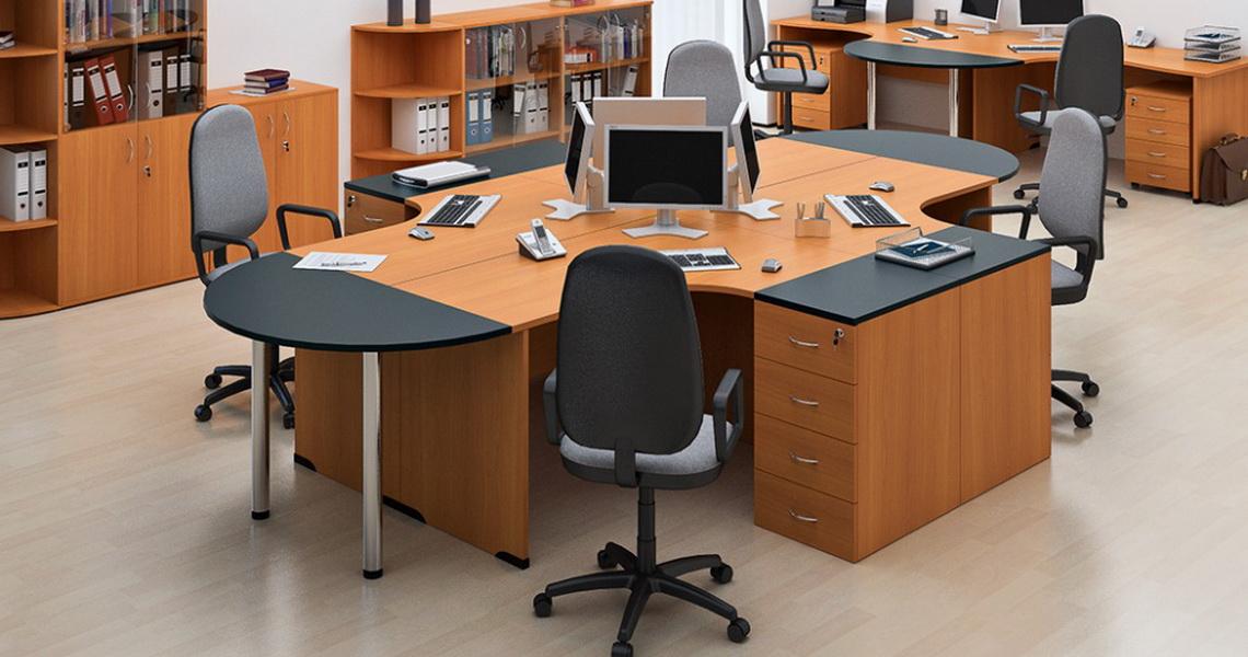 birou stea cires